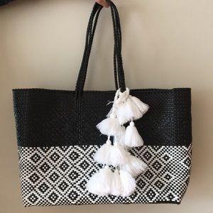Beach Bag w/ Tassels